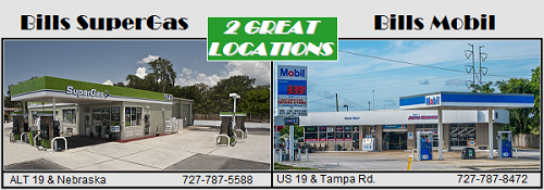 Bill's SuperGas and Bill's Mobil | Palm Harbor, FL